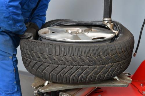 auto tire service install